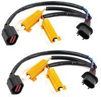 Wire HID Resistor Canceler Error Decoder 9008 H13 Headlight Flicker Stop Fix