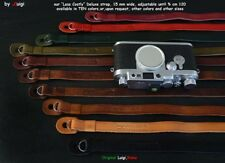 LESS COSTLY LUIGI DELUXE STRAP,ADJUSTABLE,for LEICA,NIKON,CANON,FUJI,SONY+,UPS