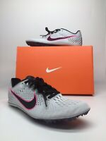 Nike Zoom Victory Elite 2 Track Spikes Gray Pink Black 835998-002 Men's With box