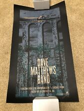 Dave Matthews Band DMB Poster Set 4/28/2009 4/29/2009 Alpheratta Ga