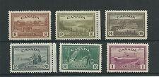 Canada 1946-47 6 values set to $1 SG401-6 fine mtd mint, Cat.£60+