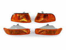 DEPO JDM Amber Corner + Bumper Signal Light For 1992-1993 Acura Integra GS LS RS