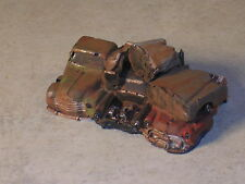 HO Scale Rusted Out Stack of Junk Vehicles #3