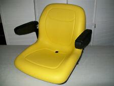 YELLOW SEAT JD JOHN DEERE Z TRAK M65,M655,M665,717A,727A ZERO TURN MOWERS ZTR#OY