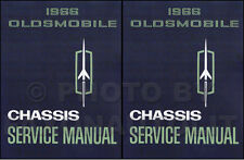 1966 Olds Shop Manual Set 442 Cutlass F85 88 98 Jetstar Toronado Starfire