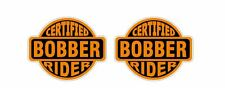 Certified Bobber Rider Sticker Decal Oldschool Harley Davidson Motorcycle Cult