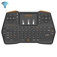 Viboton Mini 2.4GHz Wireless Keyboard with 3 LED Indicator for HTPC / PC / PS3