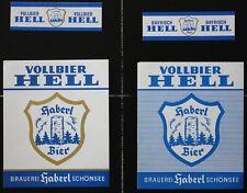 Bieretiketten Bieretikette Deutschland Schönsee Haberl #F
