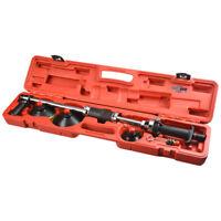 FIT Manual Sliding Hammer Vacuum Auto Body Dent Repair Puller w/ 3 PCS Pads