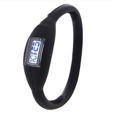 Relojes de pulsera digitales de acero inoxidable de acero inoxidable