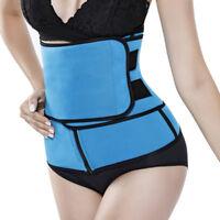 Sports Waist Trainer Belt Tummy Slimming Shaper Cincher Control Corset Plus Size