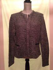 Ann Taylor Women's Loose Knit Gray Sweater