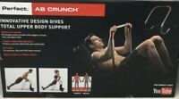 NEW Perfect Fitness Multi-Exercise Core Targeting Ab-Crunch Home Ab Workout Gym