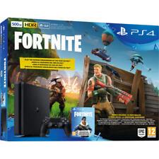 Sony PlayStation PS4 500GB Slim negra Fortnite