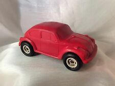 Galanite Sweden VW 1303 S Beetle Big Plastik Vynil Gummi Model Auto (Red)