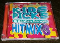 NEW Factory-Sealed KIDS PICKS Hit Mix 3 CD with 15 (The) BEATLES Songs!