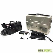 [Vintage] Quasar VHS Movie Camcorder w/Extras (Model: VM-21)