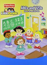 Fisher Price Little People: ABC 's & 123 's Fisher Price Audio CD