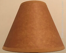 Cottage lamp shades ebay rustic cottage table light lamp shade oil kraft clip on bulb style 9 inch aloadofball Choice Image