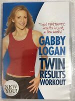 , Gabby Logan - Twin Results Workout [DVD] [2005], New Sealed DVD