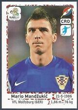 PANINI EURO 2012- #391-HRVATSKA-CROATIA-VFL WOLFSBURG-MARIO MANDZUKIC