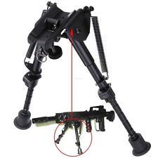 Nero Girevole Bipiede per Fucile Cecchino Riposo Compatto Universale 152-230mm