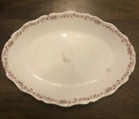 Antique 1900 John Maddock And Sons (England) Royal Vitreous Large Platter