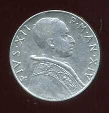 ITALIE  ITALY  vatican  5 lire 1952