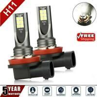 2x H11 LED Headlight Kits 110W 20000LM FOG Light Bulbs 6000K Driving DRL Lamp