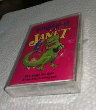 Sing Along With Janet Sclaroff cassette tape sealed Tyrannosaurus Rex Bear Hunt