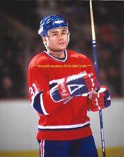 JOHN KORDIC Up CLOSE 8x10 Photo MONTREAL CANADIENS Legendary ENFORCER/TOUGH GUY