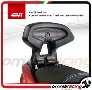 GIVI - Specific backrest for Yamaha N-Max 125 15> 16