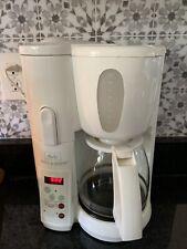 Melitta Mill & Brew 10 Cup Programmable Coffee Maker MEMB1 - WHITE
