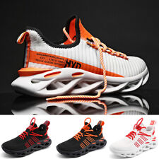 Men's Cushioned Running Sneakers Outdoor Fashion Athletic Tennis Shoes Jogging