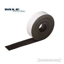 Silverline Flexible Magnetic Tape Strip Fridge sign Labels 25mm x 3m 703514