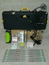 """NEW, Loaded 2021 PSE Evo EVL 32 Bow Package- 25 to 30.5"""" - 65 lb- Black"""