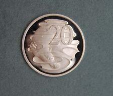 1995 20 cent coin PROOF ex set  Platypus Australia