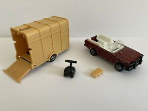 1982 Corgi James Bond E3019 Octopussy Range Rover & Horse Box (Acrostar Jet) 2
