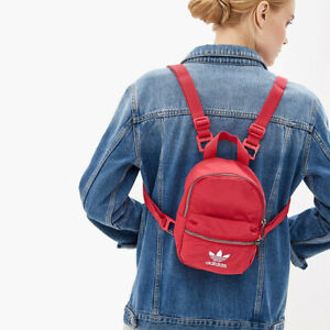 adidas Mini Backpack Small Women Kids ED5869 ED5870 ED5871 Black Pink