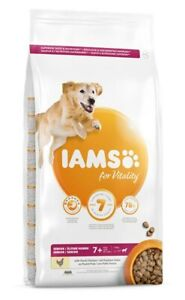 IAMS for Vitality Senior Large Breed Dog Food with Fresh Chicken | Dogs