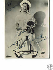 Ethel Revnell Comedian  Hand signed Vintage Photograph 4 x 3