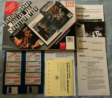Shadowgate/Deja Vu/Uninvited Apple IIGS Computer RARE Video Game 3-Pack COMPLETE