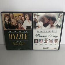 Judith Krantz DVD Lot Dazzle And Princess Daisy Very Good
