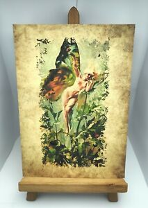 Fairy Fae Faeries Folk Flower Print Number 418 A4 New Ancient Art Picture Poster