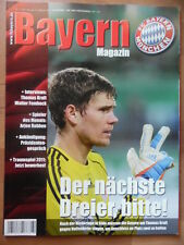 BAYERN MAGAZIN 11/62 - 12.2. 2011 H.Badstuber & Arjen Robben-XL TSG Hoffenheim
