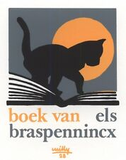 Ex Libris Willy Braspennincx : Opus 28, Els Braspennincx (with nr)