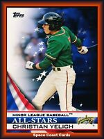 2012 Topps Pro Debut All-Stars Christian Yelich #AS-CY
