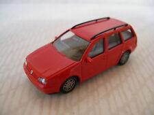 Wiking 058 01 23 VW Volkswagen Golf IV Variat Estate Coche Rojo