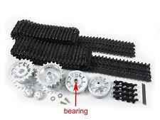 MATO MT001 Tiger 1 metal tracks & wheels with bearings FIT Heng Long UK