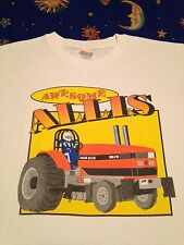 Vintage Monster Truck t shirt Tractor Pulls Racing Farm Diesel Allis Chalmers L